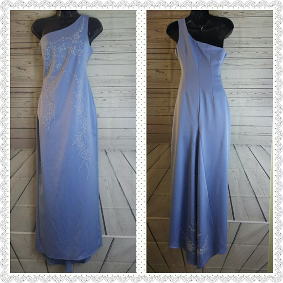 Eureka Dresses | Pastel Blue Evening Gown | Poshmark